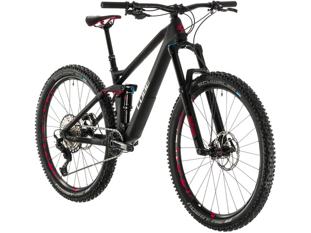Cube Sting WS 140 HPC Race Mujer, carbon/rubinred